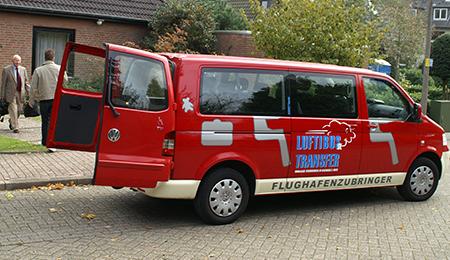 Luftibus Flughafentransfer Fahrzeug