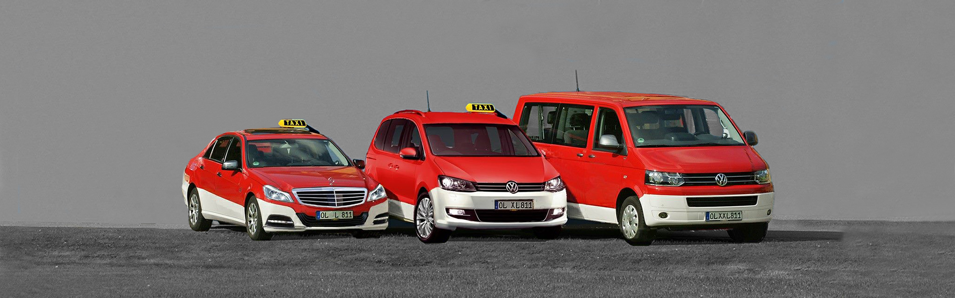 ACHT-ELF-ELF Taxi Fahrzeuge